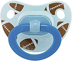NUK Sports Orthodontic Pacifiers, Boy, 18-36 Months, 2-Pack