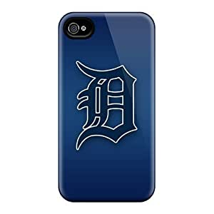 SQH1251hvUh Detroit Tigers Fashion Tpu 4/4s Case Cover For Iphone