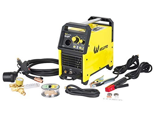 Weldpro 155 Amp Inverter MIG/Stick Arc Welder with Dual Voltage 240V/120V welding machine, spool gun capable