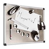 Deluxe MagneticO Desk Organizer Kit Whiteboard
