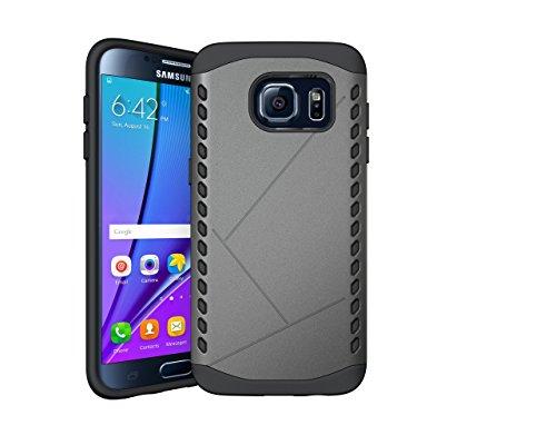 TPU Neo Hybrid Case for Samsung Galaxy S7 Edge (Grey) - 8
