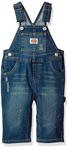 Levi's Baby Boys' Denim Overalls, Fillmore, 12M (Baby Levi Clothing)
