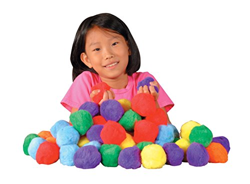 Creativity Street Large Pom Pons, 3-1/2 Inches, Pack of 36
