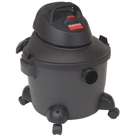 Wet/Dry Vacuum, 3.5 HP, 6 gal, 120V