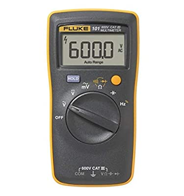 Fluke 101 Basic Digital Multimeter Pocket Portable Meter Equipment Industrial