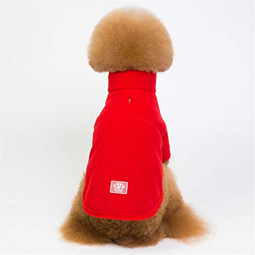 Jdogayncat Pet Clothing, British Fashion Autumn and Winter Season 2 Foot Jacket, Small and Medium Teddy Bear Dog Clothes -