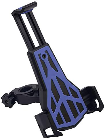YIKETING 電話マウントバイク電話マウント、3.5-6.5インチ電話用ユニバーサルアンチスリップ調整可能な自転車オートバイ携帯電話ホルダー (色 : オレンジ)