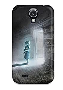 ChrisPeters YjYqRpp1926PtLsM Case For Galaxy S4 With Nice Anime Girl In Abandoned Library Appearance