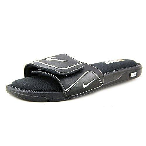 Nike Mens Comfort SlideSports Training Shoes Black/White/Silver oJagGJhRfh