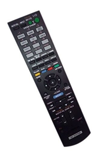 Replaced Remote Control Compatible for Sony HTC-T550W RM-AAU113 1-489-412-11 HT-SS380 STRKS380 Audio / Video AV Receiver Home Theater System -  JustFine, LYSB01M2AGOJH-ELECTRNCS