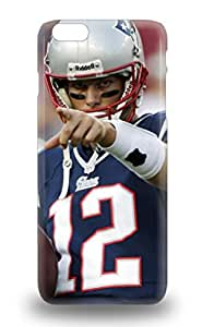 Iphone Skin 3D PC Soft Case Cover For Iphone 6 Plus Popular NFL New England Patriots Tom Brady #12 Phone 3D PC Soft Case ( Custom Picture iPhone 6, iPhone 6 PLUS, iPhone 5, iPhone 5S, iPhone 5C, iPhone 4, iPhone 4S,Galaxy S6,Galaxy S5,Galaxy S4,Galaxy S3,Note 3,iPad Mini-Mini 2,iPad Air )
