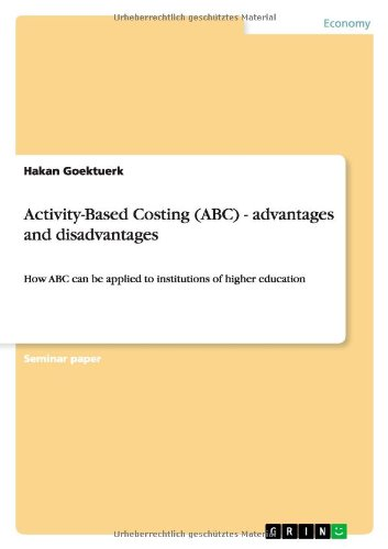 activity based costing advantages and disadvantages