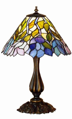 (1-Light 21 in. Wisteria Accent Lamp)