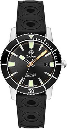 [Zodiac] Zodiac Reloj Super Sea Wolf 53 zo9256 hombre [Regular importados]: Amazon.es: Relojes