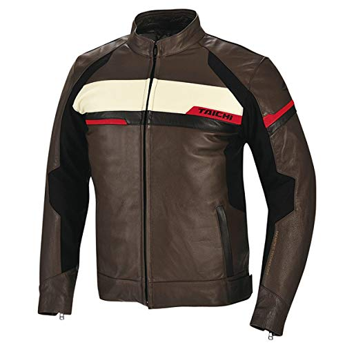 RS Taichi Indy Leather All Season Jacket - RSJ711 (XX-Large) (Brown)