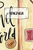 Venezuela: Ruled Travel Diary Notebook or Journey  Journal - Lined Trip Pocketbook for Men and Women with Lines