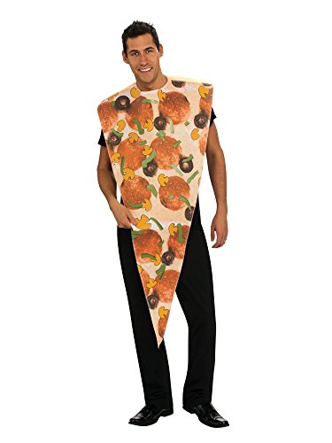 Rubie's Pizza Slice Adult Humor Costume, Red, Standard -