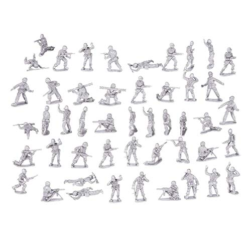 200-Piece Military Figures Set – Toy Army Soldiers in 4 Colors, World War II Playset with 4 Flags