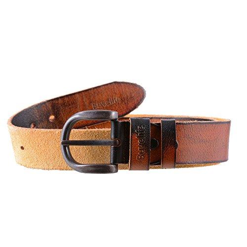 buvelife mens vintage leather belt 100 genuine leather