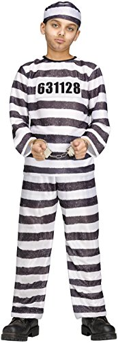 (Fun World Jailbird Costume -)