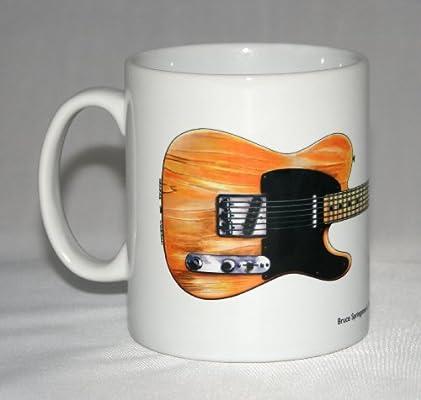 Taza de guitarra. Ilustración de Fender Esquire 50 de Bruce ...
