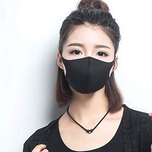 Musommer 25pc Cotton Face Bandana Outdoor Sport Protective Face Covering Reusable Washable Breathable Face Protection