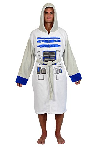 Disney Star Wars Officially Licensed Adult R2-D2 Droid Fleece Robes