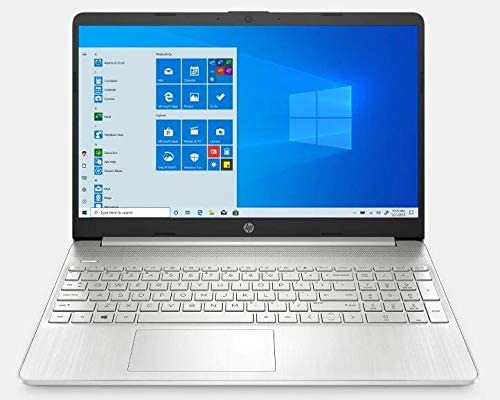 "2021 Newest HP 15.6"" FHD IPS Touchscreen Laptop PC Intel i7-1065G7 Quad-Core Processor 12GB DDR4 RAM 256GB NVMe SSD Intel Iris Plus Graphics Webcam, HDMI Silver Windows 10 Home w/RE 32GB USB 3.0 Drive WeeklyReviewer"
