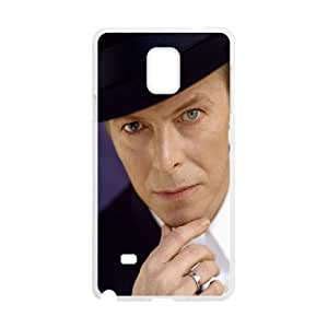 David-Bowie Samsung Galaxy Note 4 Cell Phone Case White as a gift W4494804