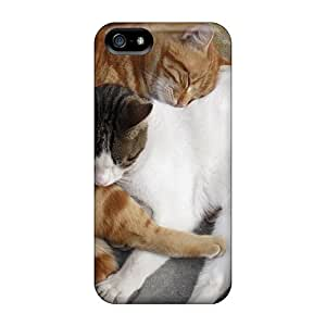 UWK16696PfNI Cats Animals Desktop Fashion Tpu 5/5s Case Cover For Iphone