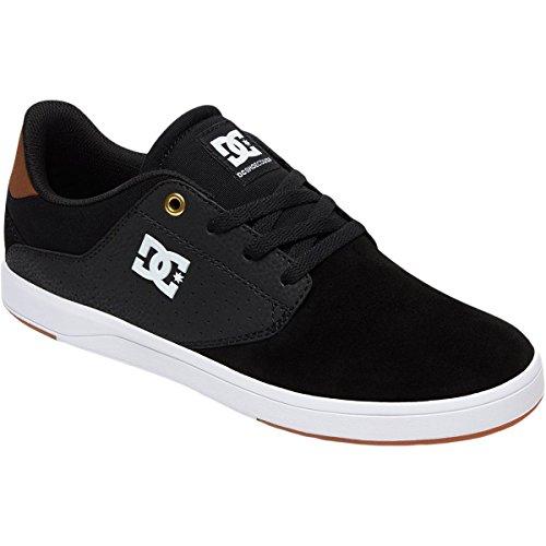 DC Men's Plaza TC Skate Shoe, Black/Brown/White, 11 D D US ()