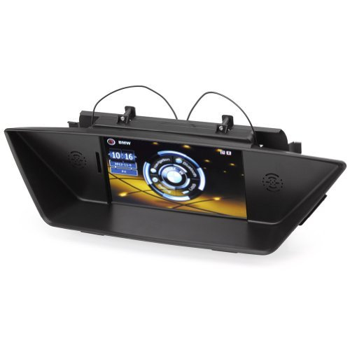 Rupse For 2009 2010 2011 2012 2013 2014 BMW X1 E84 Upgrade Multimedia Navigation System with 7 Inch TFT LCD Touchscreen Monitor Bluetooth Music Support 1080p Video