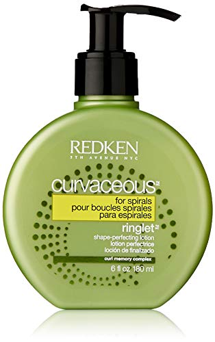 (Redken Curvaceous Ringlet Anti-Frizz Perfecting Hair Treatment Lotion, 6 oz)