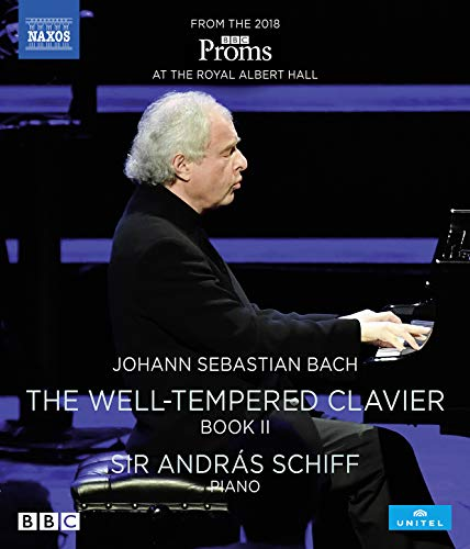 Sir Andras Schiff plays The Well-Tempered Clavier, Book II [Blu-ray]