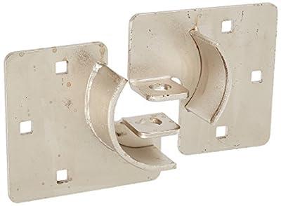 NU-SET 2714-3 High Security Hasp for Trailer Door, 8-1/4-Inch