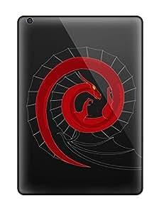New Premium Flip Case Cover Debian Skin Case For Ipad Air