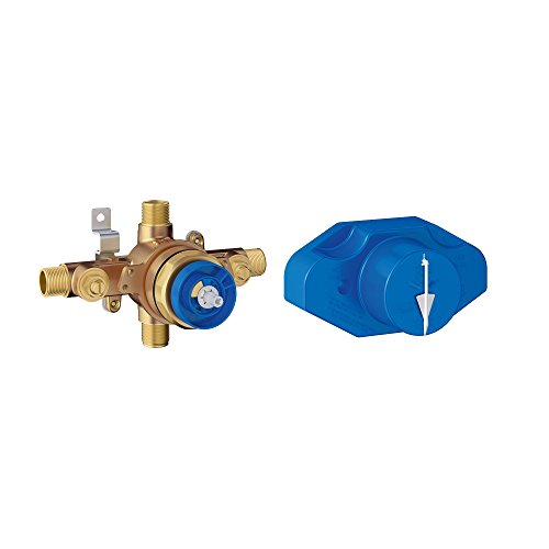 Grohe 35015001 - Grohsafe Universal Pressure Balance Rough-In Valve (New Version of Grohe 35015000)