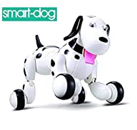 SainSmart Jr. Wireless Remote Control Electronic Smart Dog Pet Children's Toy Dancing Robot…