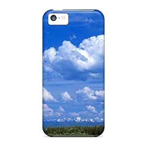 Iphone 5c Case, Premium Protective Case With Awesome Look - Sky Beauty