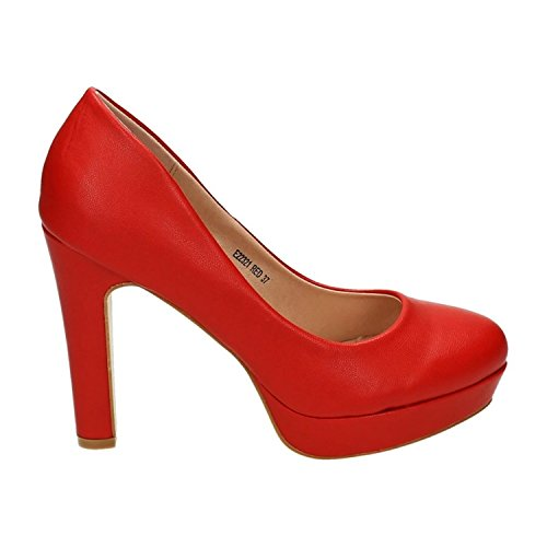 Rojo Of Mujer King Plataforma Shoes OqxwwYI