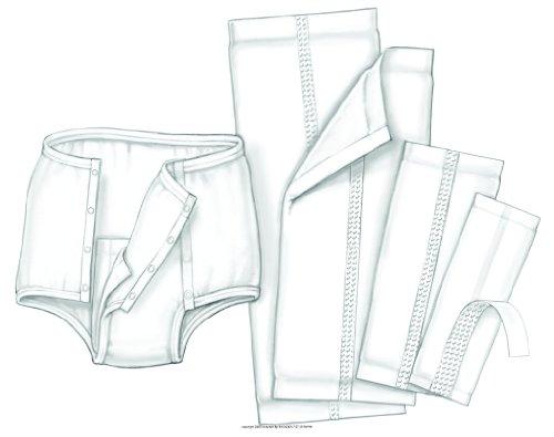 HandiCare Garment Liner, Grmt Liner 7X17 in, (1 PACK, 25 EACH)