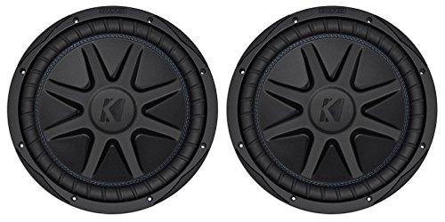 "(2) Kicker 44CVX122 Comp VX CVX 12"" 3000w Car Subwoofers Subs CVX12-2 44CVX12-2"