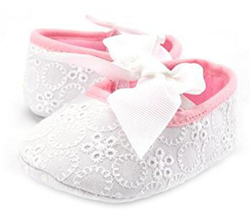 Boy Girl Baby Soft Shoes Soled Non-Slip Footwear Crib Shoes Multi 13-18 Months by Darlyhood (Image #1)