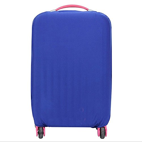 fanyuan-spandex-travel-luggage-cover-fits-l-26-30-inch-luggage-blue