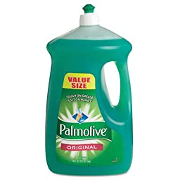 Palmolive Dishwashing Liquid, Original Scent, Green, 90 oz.. Bottle (4/Carton) - BMC- CPC46157
