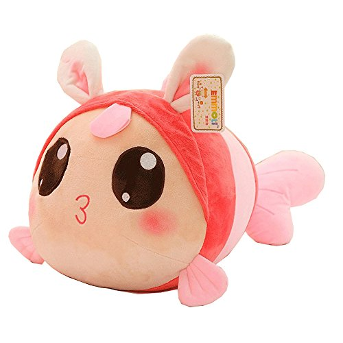 Super Cute Pink Shy Rabbit Plush Doll Toy, High Quatily Stuffed Dolls Animal Toys Gift (28cm/11.7inch)