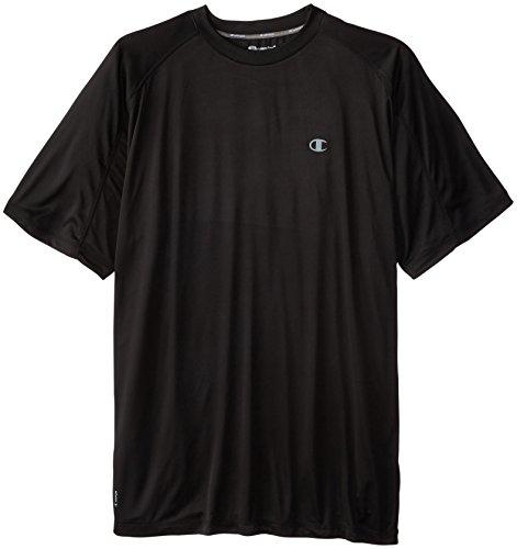 Champion Men's Big-Tall Powertrain T-Shirt, Black, XX-Large (Power Cool Champion compare prices)