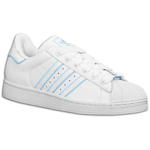 sexual Decremento Proscrito  Buy Adidas Women's Superstar II Reflective (sz. 07.0, White/White/Argentina  Blue) at Amazon.in