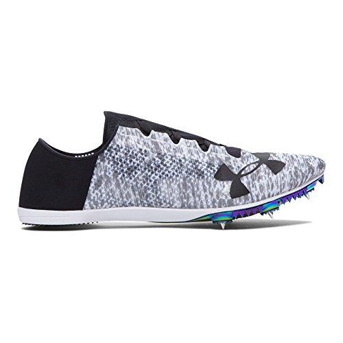 Under Armour Speedform Miler Pro Athletic Shoe, White (100)/Black, 5.5