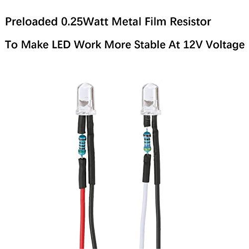 10 x 5mm LED Pack DIY PCB UV Ultraviolet Back Light